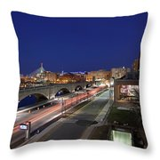 Boston Museum Of Science Throw Pillow by Juergen Roth