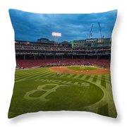 Boston Strong Throw Pillow by Paul Treseler