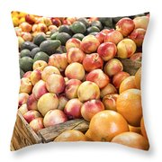 Bounty Throw Pillow by Caitlyn  Grasso