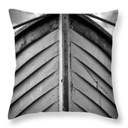 Bow  Throw Pillow by Stelios Kleanthous