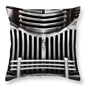 Bowtie Lines Throw Pillow by Ken Smith