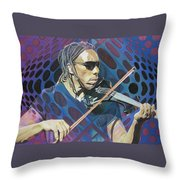 Boyd Tinsley Pop-op Series Throw Pillow by Joshua Morton