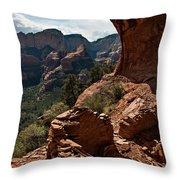 Boynton Canyon 08-160 Throw Pillow by Scott McAllister