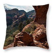 Boynton Canyon 08-160 Throw Pillow by Scott McAllister