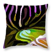 Brain Coral Abstract 1 Throw Pillow by Bill Caldwell -        ABeautifulSky Photography