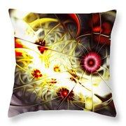 Breakthrough Throw Pillow by Anastasiya Malakhova