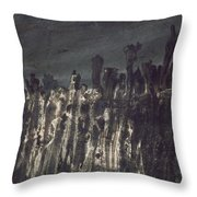 Breakwater In Jersey Throw Pillow by Victor Hugo