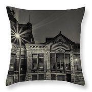 Brewhouse 1880 Throw Pillow by CJ Schmit