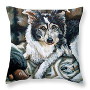 Brody Throw Pillow by Shana Rowe Jackson