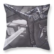 Bruce Lee Is Kato   1 Throw Pillow by Sean Connolly
