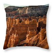 Bryce Canyon II Throw Pillow by Jeff Burton