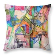 bSeter Elyion 28 Throw Pillow by David Baruch Wolk