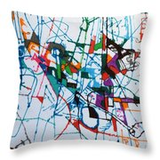 bSeter Elyion 30 Throw Pillow by David Baruch Wolk