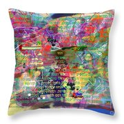 bSeter Elyion 7 Throw Pillow by David Baruch Wolk