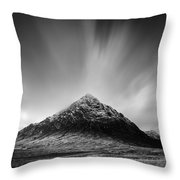 Buachaille Etive Mor 1 Throw Pillow by Dave Bowman