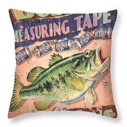 Bubba Measuring Tape Throw Pillow by JQ Licensing