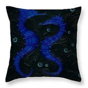 Bubbles. Throw Pillow by Kenneth Clarke