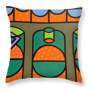 BUBBLES Throw Pillow by Patrick J Murphy