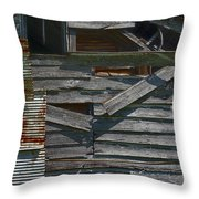 Building Materials Throw Pillow by Murray Bloom
