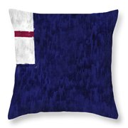 Bunker Hill Flag Throw Pillow by World Art Prints And Designs