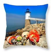 Buoyed Throw Pillow by Adam Jewell