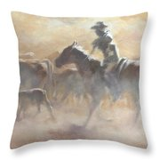 Burning Daylight Throw Pillow by Mia DeLode