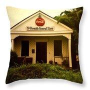 Burnside General Store Throw Pillow by Scott Pellegrin