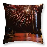 Burst Of Paradise Throw Pillow by Bill Pevlor