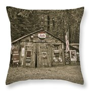 Busted Knuckle Dr Throw Pillow by Alana Ranney
