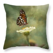 Butterfly Dreams Throw Pillow by Kim Hojnacki