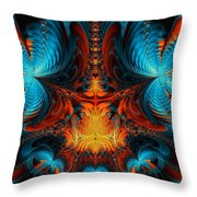Butterfly Plasma  Throw Pillow by Ian Mitchell