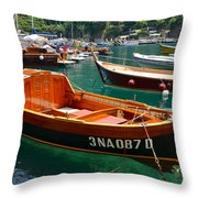 By Special Request Throw Pillow by Corinne Rhode