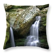 By The Kings River Throw Pillow by Marty Koch