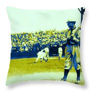 Cactus League - 20130207 Throw Pillow by Wingsdomain Art and Photography