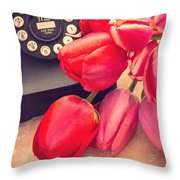 Call Me My Love Throw Pillow by Edward Fielding