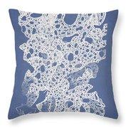 Callymenia Cribrosa Throw Pillow by Aged Pixel