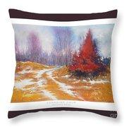 Canadian Calm Throw Pillow by Matthys Moss