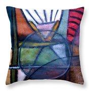 Canoe Throw Pillow by Venus
