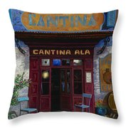 cantina Ala Throw Pillow by Guido Borelli