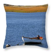 Cape Cod Charm Throw Pillow by Juergen Roth