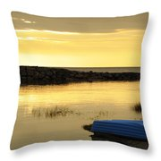 Cape Cod Delight Throw Pillow by Luke Moore