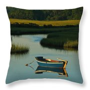 Cape Cod Quietude Throw Pillow by Juergen Roth