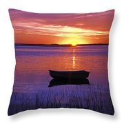 Cape Cod Sunrise Throw Pillow by John Greim