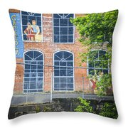 Capitola Cotton Yarn Mill Throw Pillow by Carolyn Marshall