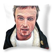 Cap'n Cook Throw Pillow by Tom Roderick