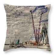 Captain Phillips Throw Pillow by Benanne Stiens