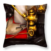 Car - Model T Ford  Throw Pillow by Mike Savad