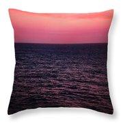 Caribbean Sunset Throw Pillow by Kim Fearheiley