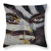 Carnival Throw Pillow by Michael Creese