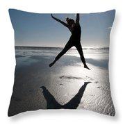 Carpe Diem Throw Pillow by Lisa Knechtel